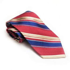Michael Kors | Red/Blue Stripe Necktie